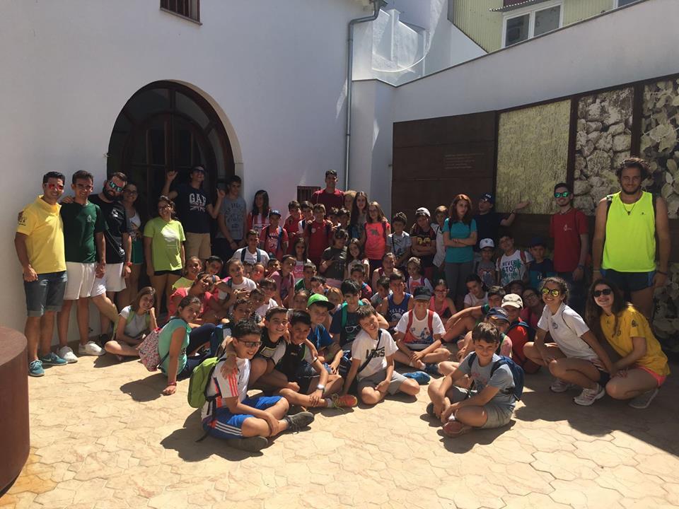 Visita Campamentos Cristo Rey. Junio.jpg