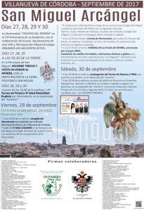 Festividad de San Miguel en Villanueva de Córdoba @ Andalucía | España