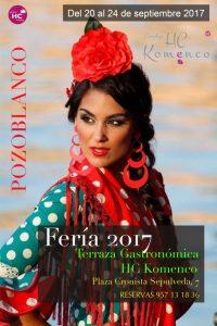 FERIA 2017 EN LA TERRAZA GASTRONÓMICA HC KOMENCO EN POZOBLANCO @ TERRAZA GASTRONÓMICA HC KOMENCO | Pozoblanco | Andalucía | España