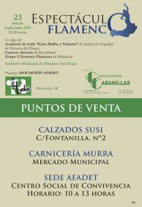 Espectáculo Flamenco en Hinojosa del Duque @ Auditorio de Hinojosa del Duque | Hinojosa del Duque | Andalucía | España