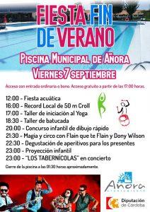Fiesta Fin de Verano. Añora @ Piscina Municipal | Añora | Andalucía | España