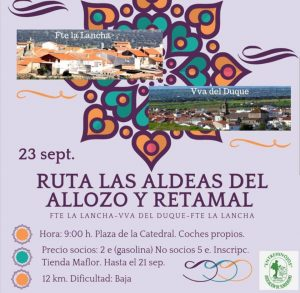 Ruta las Aldeas del Allozo y Retamal. Hinojosa del Duque. @ Hinojosa del Duque | Hinojosa del Duque | Andalucía | España