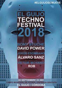 Techno Festival 2018. El Guijo @ Campo Municipal de Fútbol. El Guijo. | El Guijo | Andalucía | España
