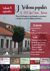 "Verbena Popular ""A.A.V.V. Las Casas Nuevas"". Hinojosa del Duque @ Hinojosa del Duque | Hinojosa del Duque | Andalucía | España"