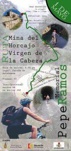 "Ruta mina del Horcajo Virgen de la Cabeza ""MEMORIAL PEPE RAMOS"". Hinojosa del Duque @ Mina del Horcajo"