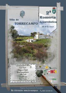 Romería acuarelística y Fiesta de las Flores. Torrecampo @ Santuario de la Virgen de Veredas