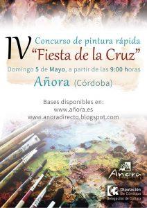 """Concurso de pintura rápida """"Fiesta de la Cruz"""". Añora @ Añora"""