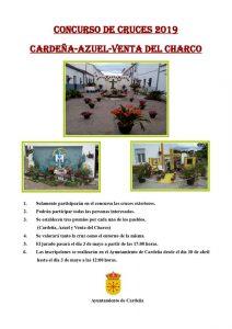 Concurso de cruces 2019. Cardeña @ Cardeña, Azuel y Venta del Charco