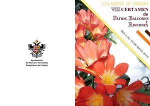 VIII Certamen de Patios, Balcones y Rincones. Villanueva de Córdoba