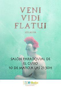 Teatro 'VENI, VIDI, FLATUI'. El Guijo @ Salón Parroquial de El Guijo