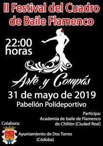 """II Edición del Festival del Cuadro de Baile Flamenco """"Arte y Compás"""" @ Polideportivo de Dos Torres"""