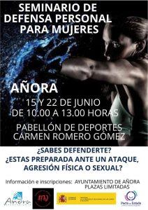 Seminario: Defensa personal para mujeres. Añora @ Pabellón de deportes.