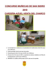 Concurso de muñecas de San Isidro. Cardeña @ Calles de Cardeña