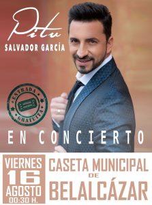 Concierto Pitu Salvador. Belalcázar @ Caseta municipal