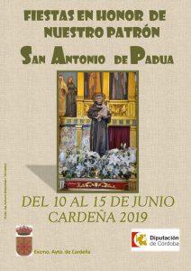 Fiestas en honor a San Antonio de Pauda. Cardeña
