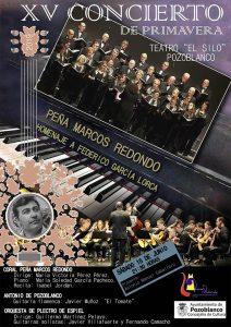 XV Concierto de Primavera y Antonio de Pozoblanco. Pozoblanco