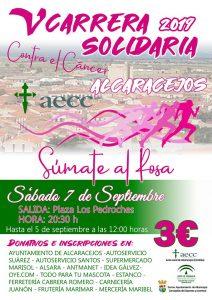V Carrera Solidaria contra el cáncer. Alcaracejos