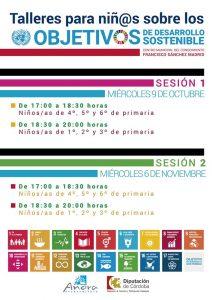Talleres sobre los objetivos de desarrollo sostenible. Añora