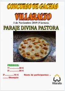 Concurso de gachas. Villaralto
