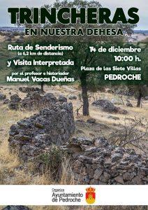 Trincheras en Nuestra Dehesa. Pedroche